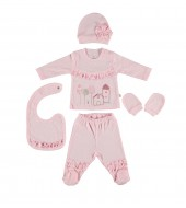 Bibaby 62103 Natural 5 Li Zıbın Set