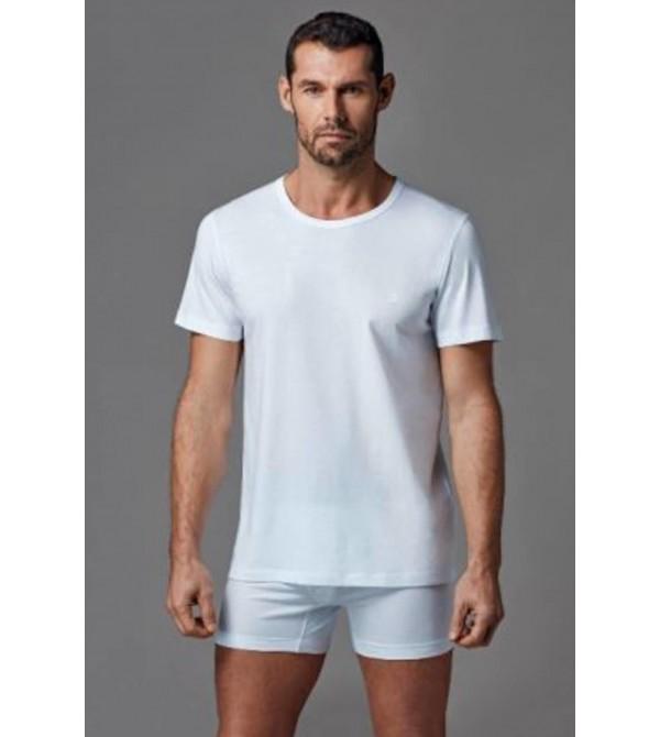 Dagi D1160 Erkek O Yaka T-Shirt 2'Li