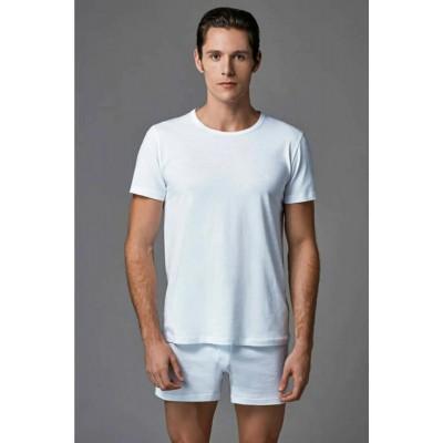 Eros ERS032 O Yaka Erkek Tişört 2'Li ES011522