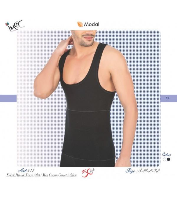 İmer 511 Erkek Body Form Korse Atlet