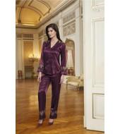 Nurteks 5691 Kadın 2 li Saten Pijama Takımı