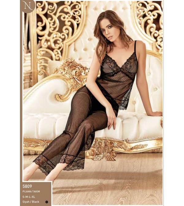 Nurteks 5809 Pijama Takım