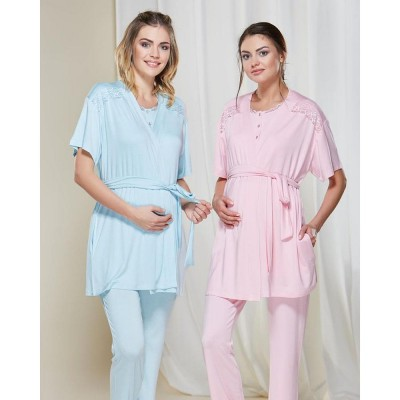 PJS 20165 Lohusa Pijama Takım