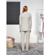 PJS Kadın Düğmeli Pijama Takımı Pjs21161