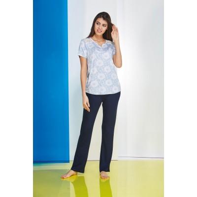PJS Bayan Pijama Takım 20635