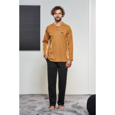 PJS Erkek Düğmeli Pijama Takımı Pjs21304