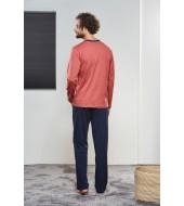 PJS Erkek Düğmeli Pijama Takımı Pjs21322