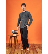PJS 21716 Erkek Patlı Pijama Takımı