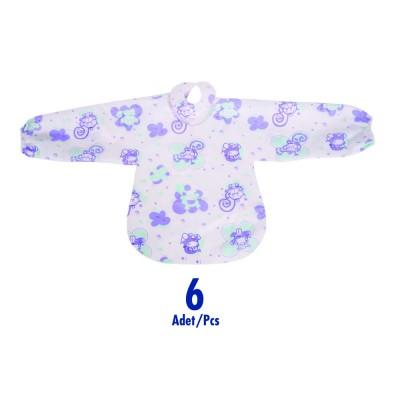 Sevi Bebe ART-262 Kullan At Mama Önlüğü 6 Adet