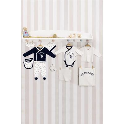 U.S. Polo Assn Lacivert Lisanslı Bebek Hastane Çıkışı USB144
