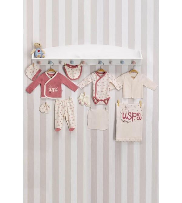 U.S. Polo Assn. Bebek Hastane Çıkış Seti USB002