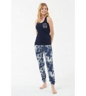 U.S. Polo Assn. 16522  Kadın Atlet Pijama Takım