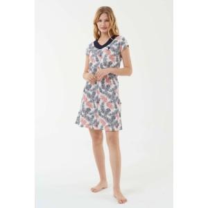 US Polo Assn. 16567 Kadın Ekru Elbise