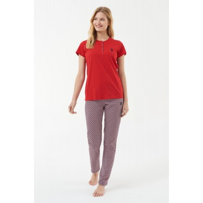 U.S. Polo Assn. 16542  Kadın Pijama Takımı