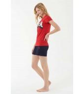 US Polo Assn. 16511 Kadın Atlet Şort Takım