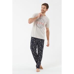 U.S. Polo Assn. 18415  Erkek Pijama Takımı