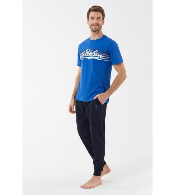 U.S. Polo Assn. 18419  Erkek Pijama Takımı