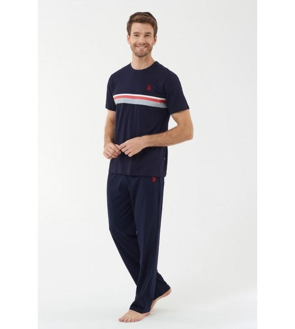 U.S. Polo Assn. 18435  Erkek Pijama Takımı