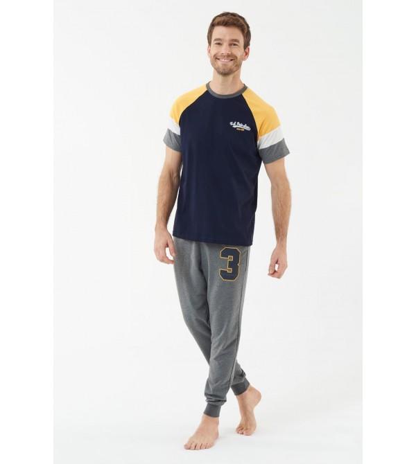U.S. Polo Assn. 18447  Erkek Pijama Takımı