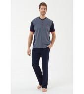 U.S. Polo Assn. 18450  Erkek Pijama Takımı